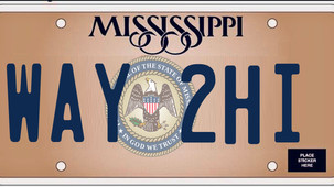 Mississippi license plates are sometimes expensive due to local property tax rates