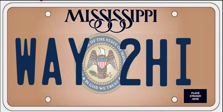 TOO HIGH: Mississippi auto and truck owners pay heavily for their license plates thanks local property taxes. Photo graphic by Steve Wilson