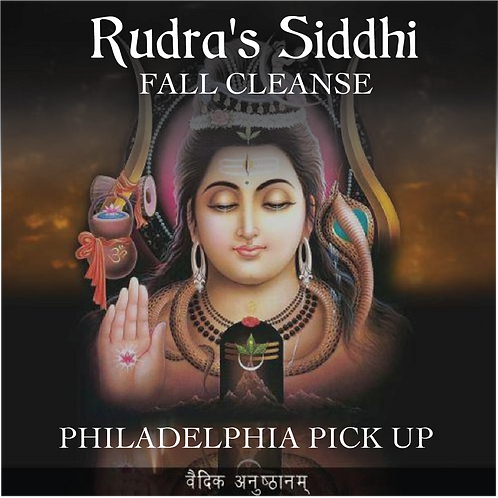 Rudra's Siddhi Fall Cleanse (Pick Up)