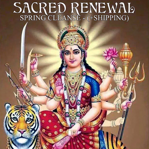 Sacred Renewal - Spring Cleanse (w/Shipping)