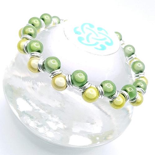Lemon and Lime stretch Bracelet