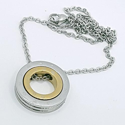 Zodiac double ring Pendant