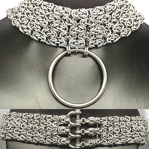 Byzantine Lace Chainmaille Day Collar