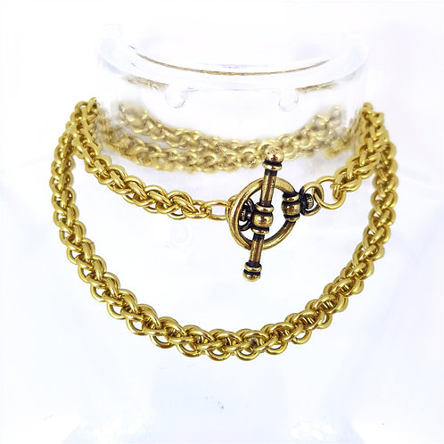Jens Pind Linkage 3 Chainmaille Necklace