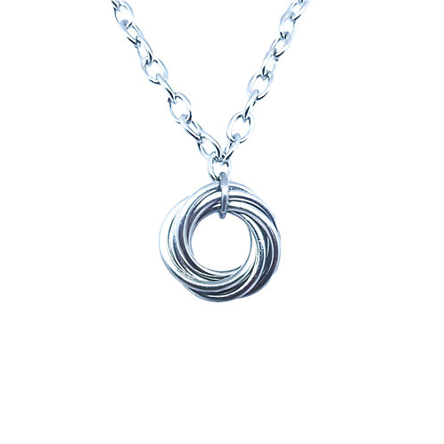 Mobius Flower necklace