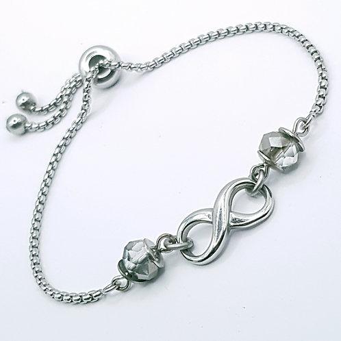 Infinity slider Bracelet