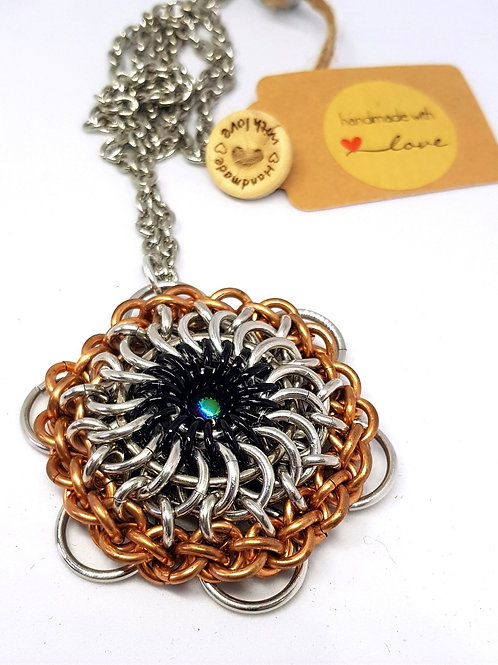 Eye of the Beholder Steampunk Necklace