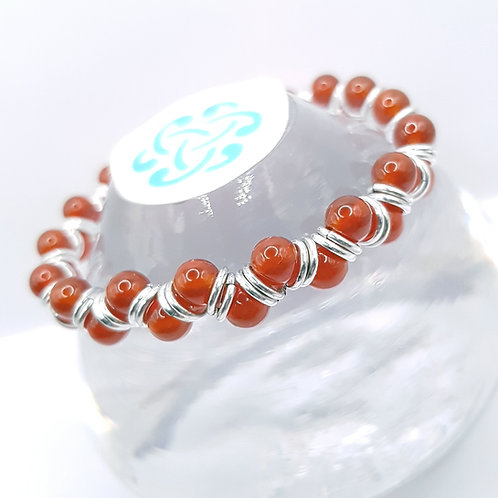 Blood Agate Bracelet