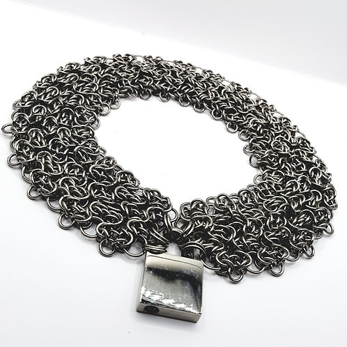Byzantine Lace Filigree Chainmaille Day collar