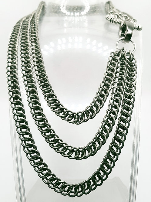 Half Persian 3in1 Chainmaille Necklace
