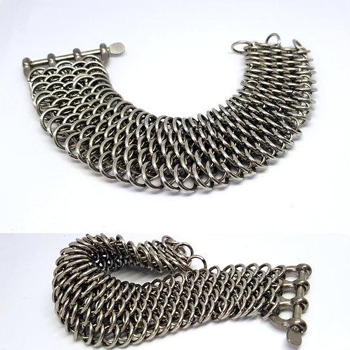 Dragonscale Cuff Bracelet