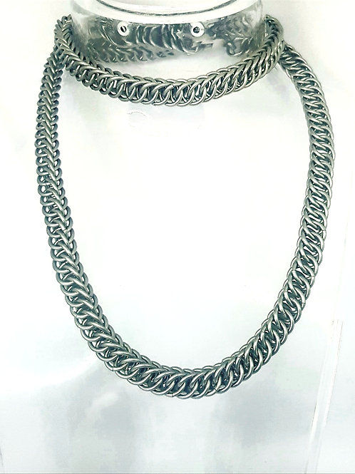 Half Persian 4in1 Chainmaille Necklace/Wallet Chain