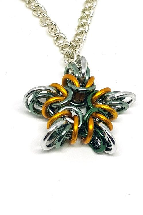 Star of Byzantine Necklace