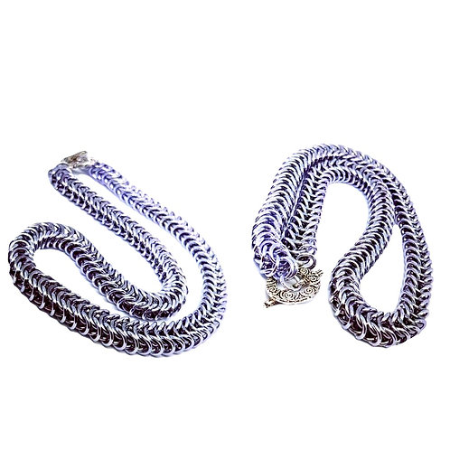 Box Chainmaille Necklace