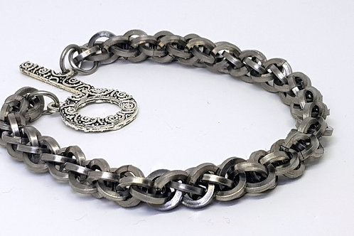 JPL 3 Square weave Chainmaille Bracelet