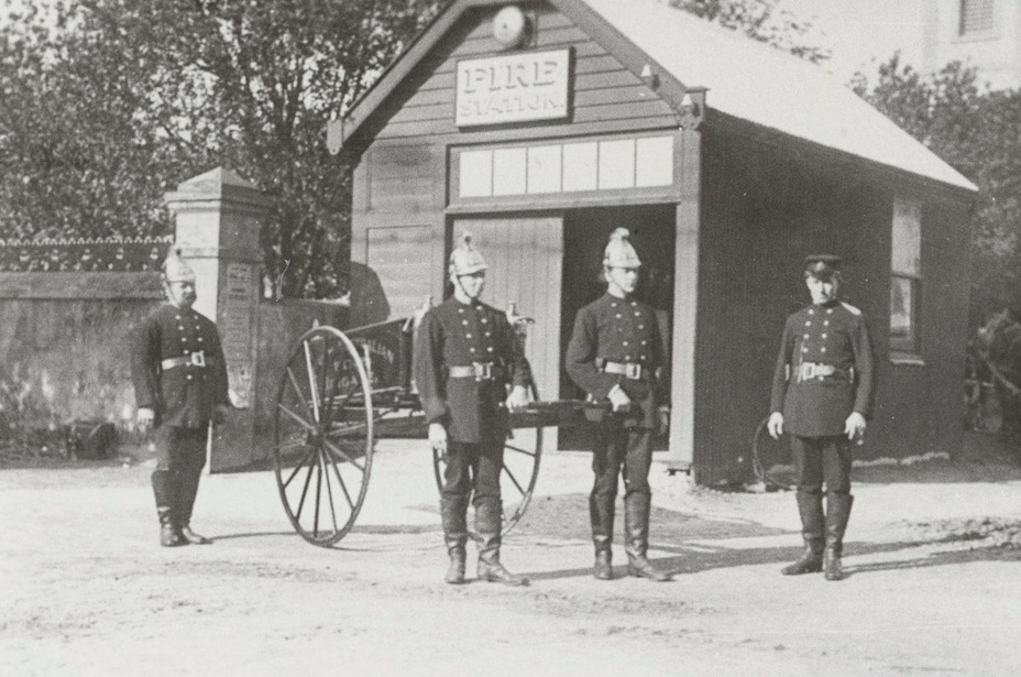 Tanunda Fire Station 1910