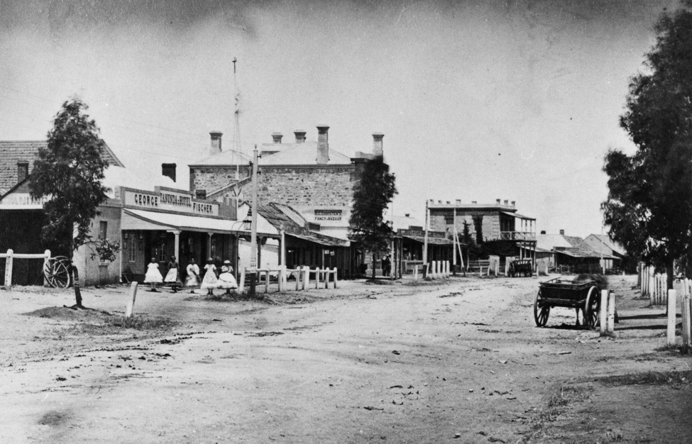 Tanunda Main Street 1870