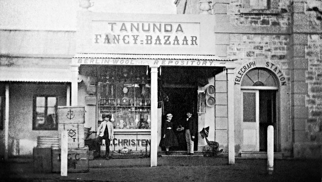 Tanunda Bazaar, around 1890