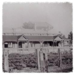Clubhouse around 1900