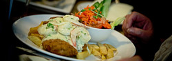 Clubhouse Surf & Turf Schnitzel