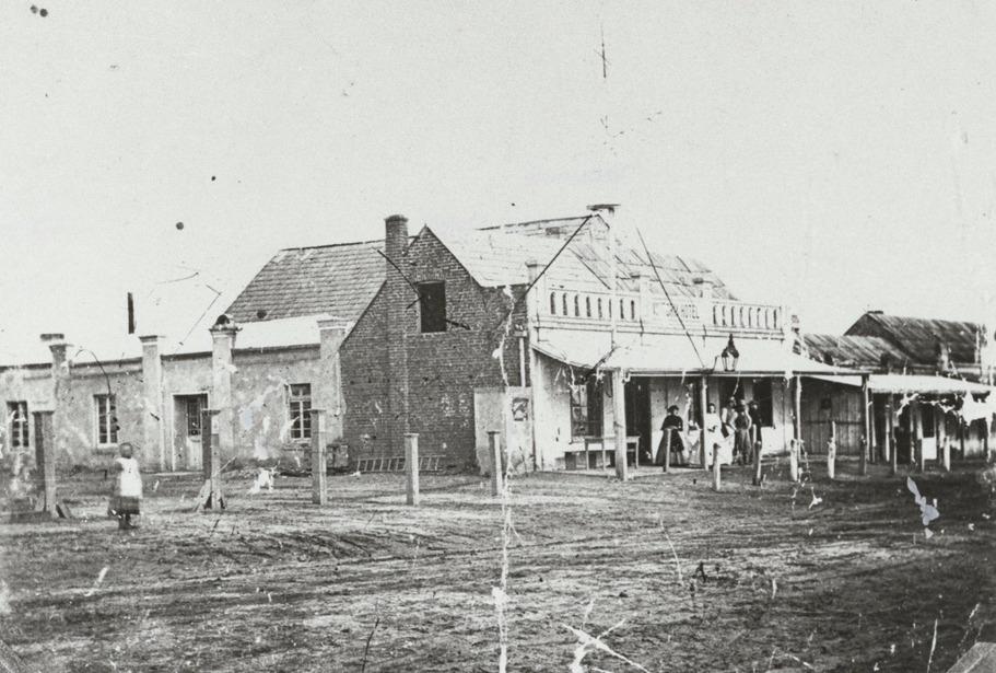Victoria Hotel Tanunda 1900