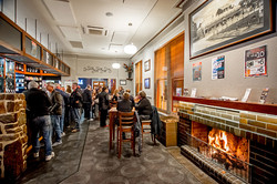Clubhouse Bar in winter