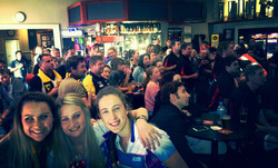Grand Final Day in The Clubhouse bar
