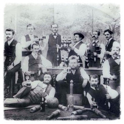 A group of Tanunda men around 1900