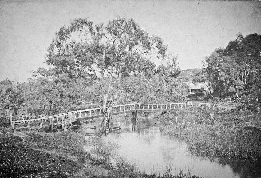 Tanunda Rose Bridge 1880