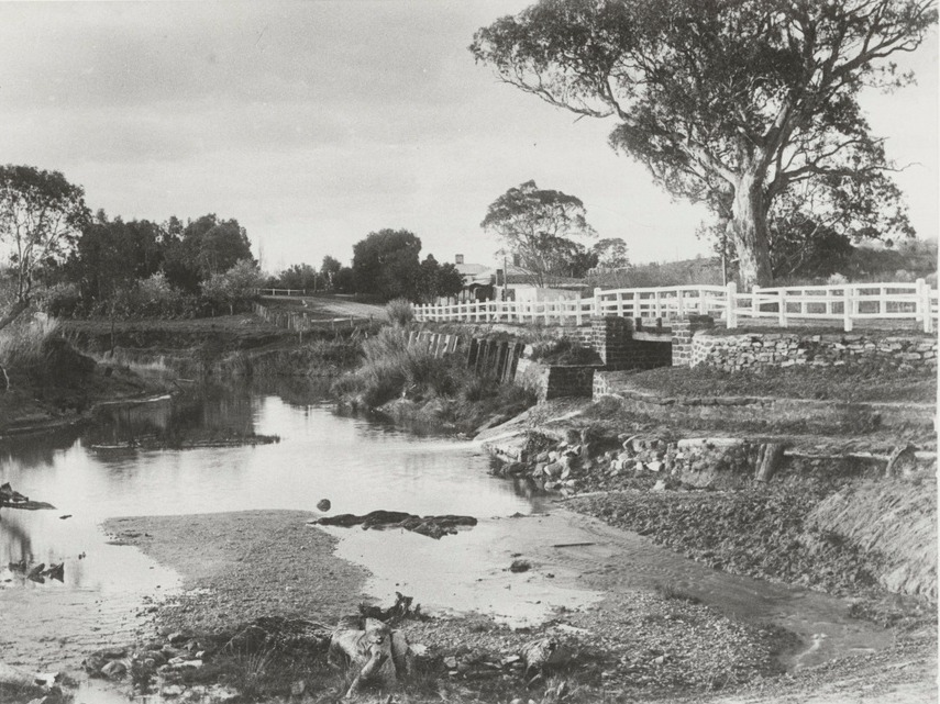 Tanunda Bridge 1910
