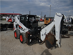 Bobcat Skid Steer with backhoe Joplin