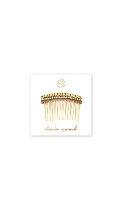 Huxton Hair Comb   Gold