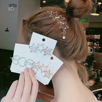 Vintage  Silhouette Alloy Hair Clips
