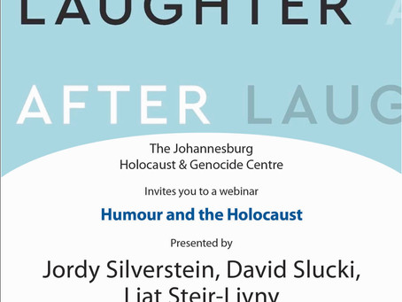 Panelist: Laughter After: Humor and the Holocaust