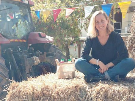 A Talt at a Kibbutz Festival