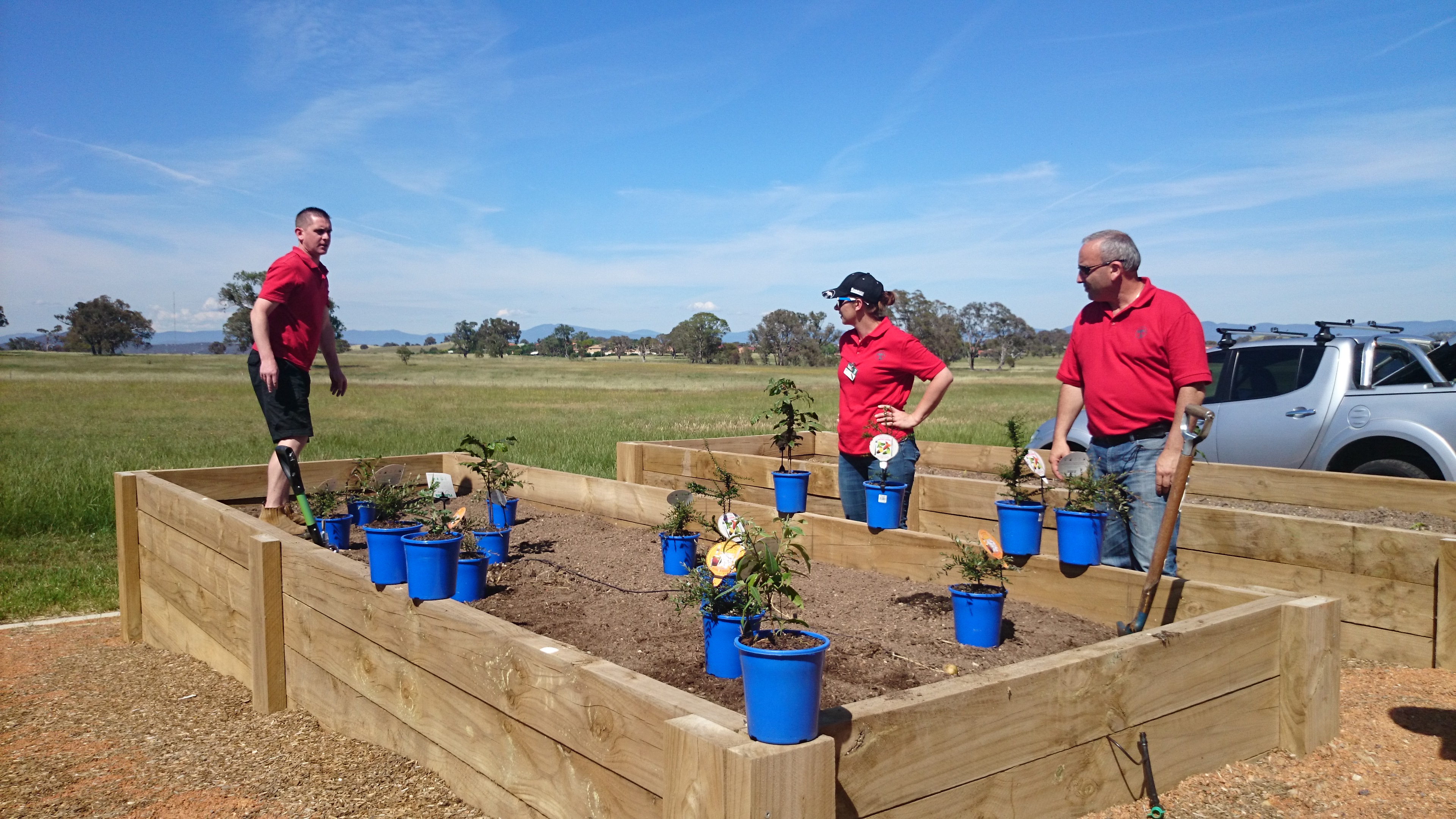 Bunnings Community Project Nov 2015