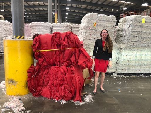 Dow GLBI Turns Used Plastic Mesh into Recycled Plastic Golf Tees