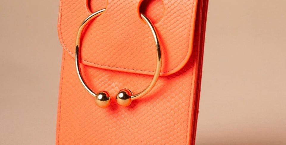 Crossbody Lue Pouch-Orange