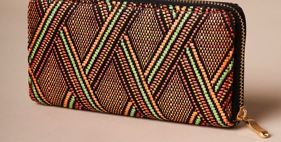 Brown Aztec Wallet