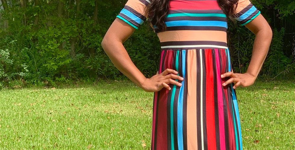 Bohemian Twist Dress