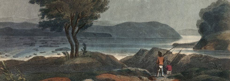 "After John H. B. Latrobe, ""Sky in Stormy Weather - Falls of the Susquehanna Above Columbia"""