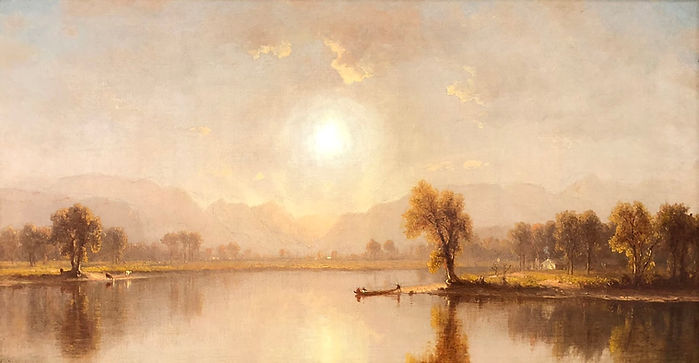 An_October_Afternoon_on_the_Juniata_by_S