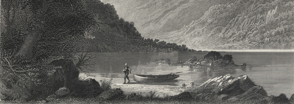 "After Granville Perkins, ""The Susquehanna (at Hunter's Gap)"""
