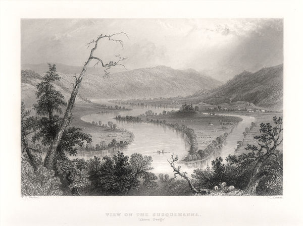 b3. Bartlett - View on the Susquehanna c