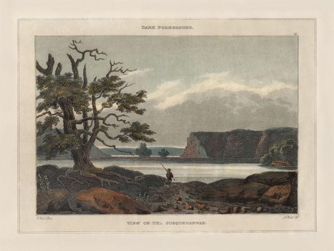 a6.Lucas - View on the Susquehanna 1827a