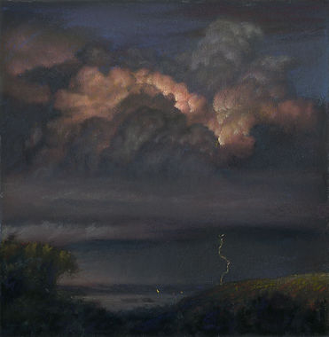 Distant Storm 4 x 4 inches 2018.jpg