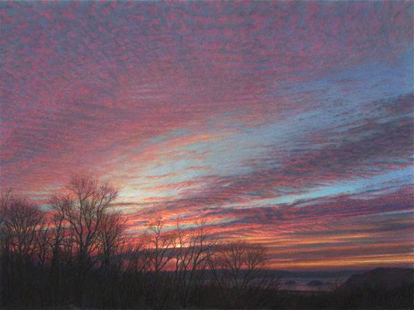 Daybreak Susquehanna Study-6in.jpg