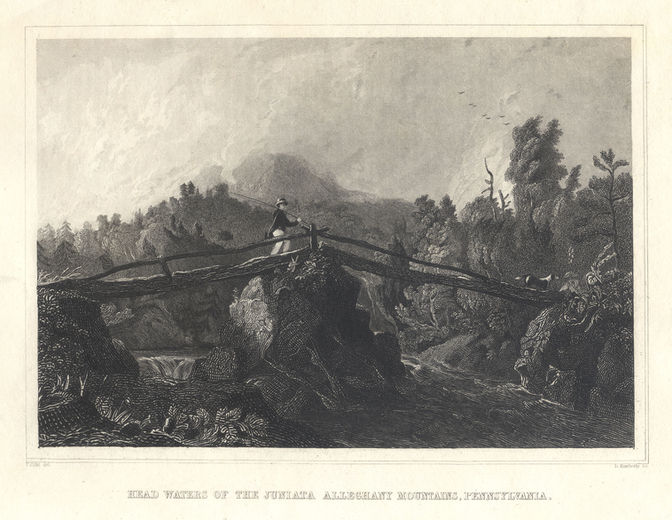 a7.Cole - Headwaters of the Juniata 1834
