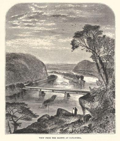Thomas Moran - View From the Bluffs at C