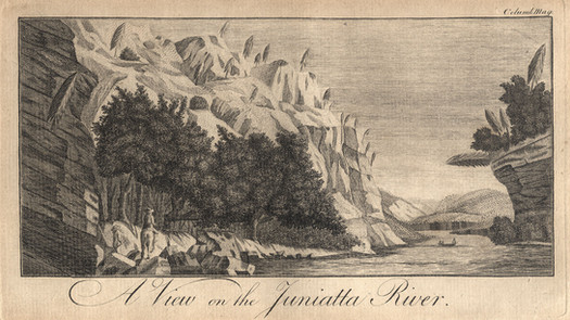 a3.A View on the Juniata - Columbia Mag
